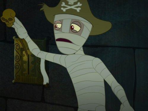 Jake a piráti ze Země Nezemě  III (1/36)
