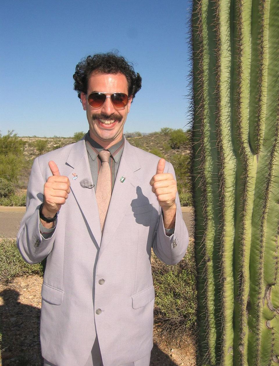 Film Borat: Nakoukání do amerycké kultůry na obědnávku slavnoj kazašskoj národu