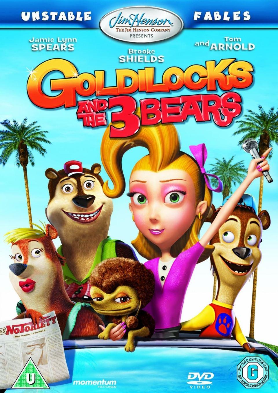 Film Zlatovláska a 3 medvědi