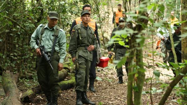 Ztracena v Kolumbii
