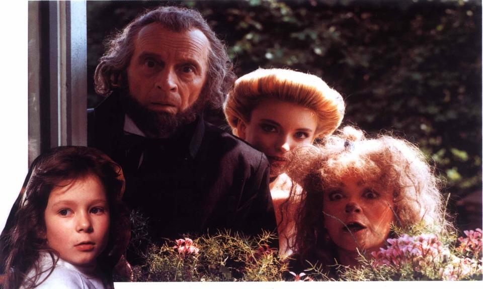 Film Kačenka a zase ta strašidla