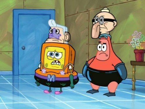 Spongebob v kalhotách  (118)