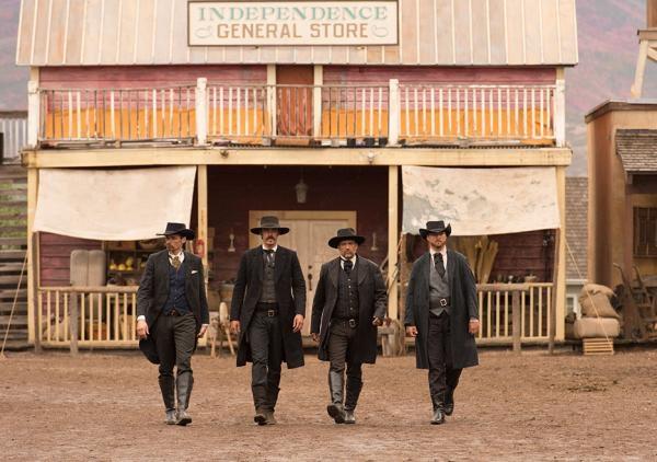 Seriál Divoký západ s Robertem Redfordem