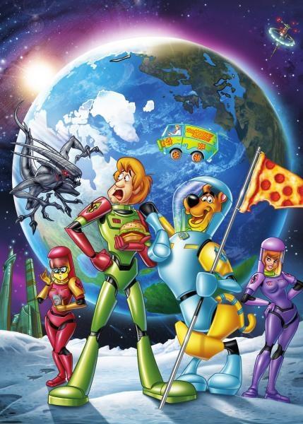 obrázek k pořadu Scooby Doo: Měsíční nestvůra vylézá