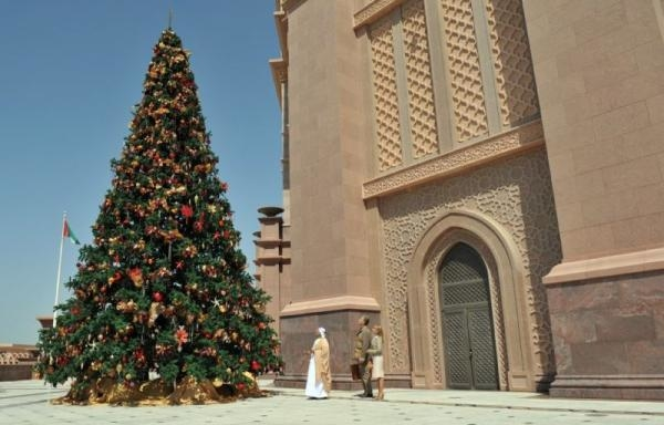 Čarovné Vianoce v Dubaji