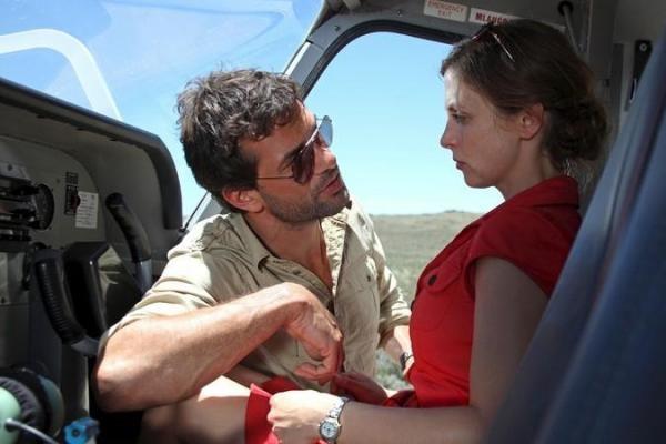 Johanna a dobrodruh: Nebe nad Afrikou