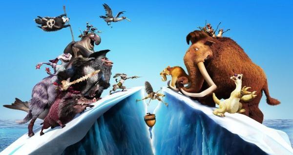 Film Doba ľadová: Zem v pohybe