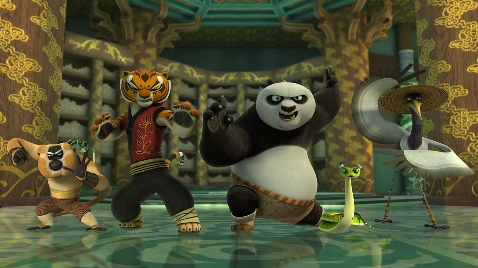 Kung Fu Panda. Legendy o mazáctví