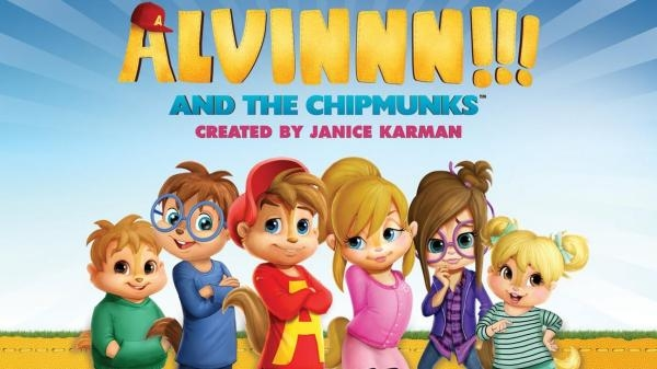 Alvinnn!!! a Chipmunkové
