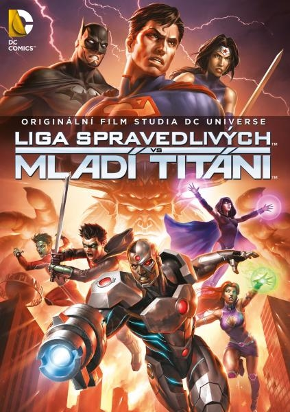 Liga spravedlivých vs. Mladí Titáni