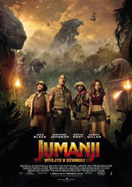 Film Jumanji: Vítejte v džungli!