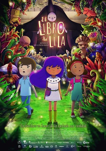 Lila - dívka z knihy