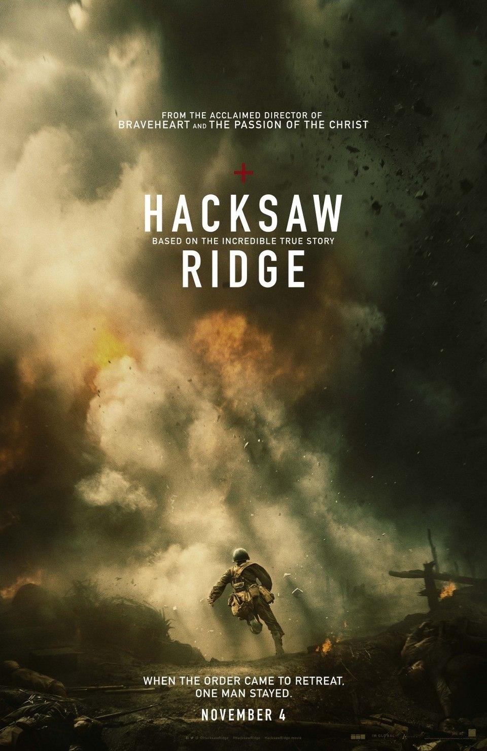 Film Hacksaw Ridge: Zrození hrdiny