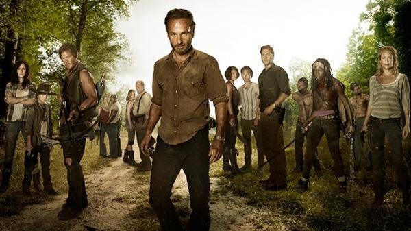 Seriál Walking Dead