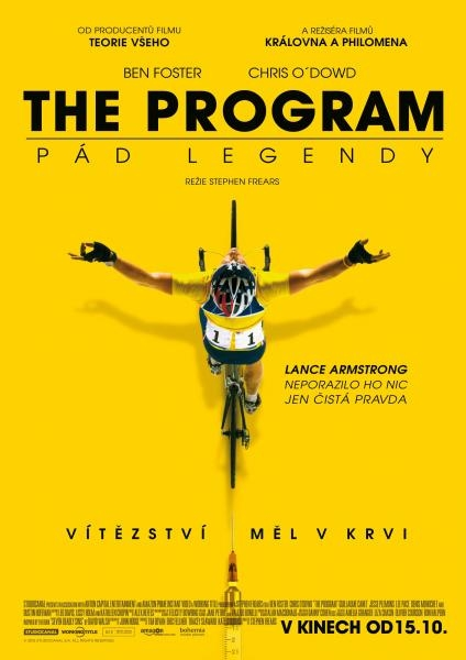 Film The Program: Pád legendy