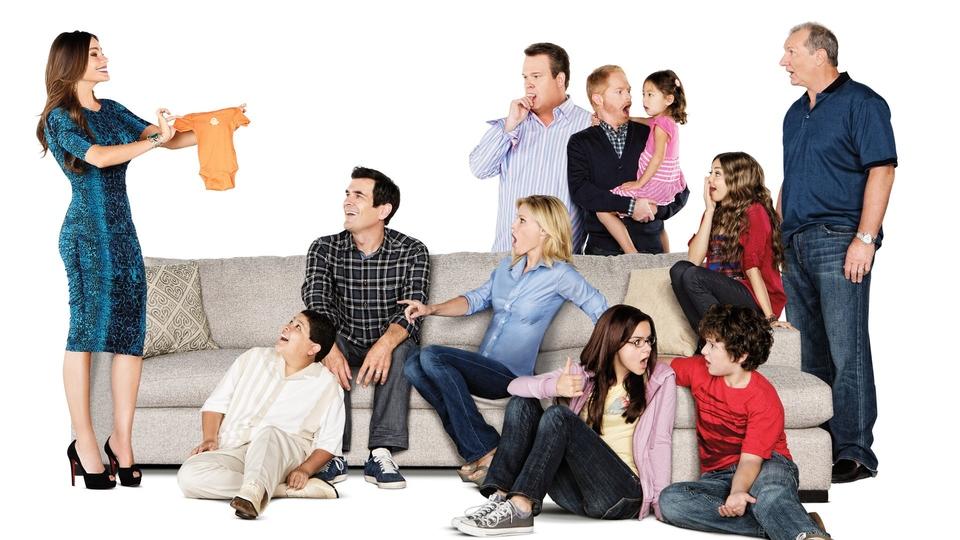 Seriál Moderna rodina