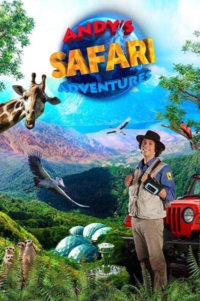 Andy na safari