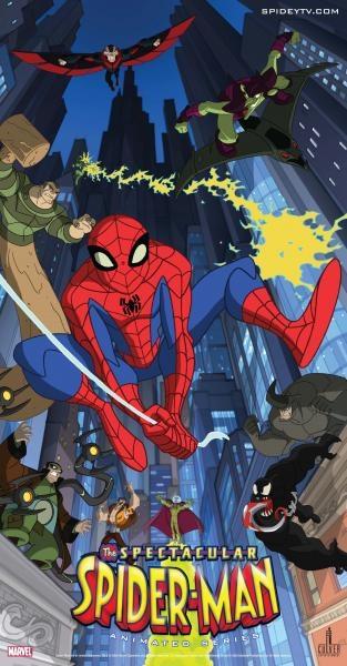 Seriál Fantastický Spiderman