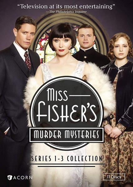 Zagadki kryminalne panny Fisher