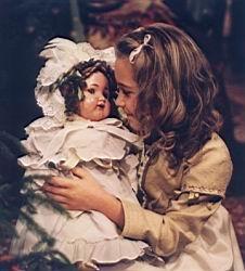 Vánoční panenka