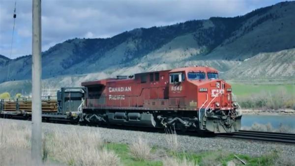 Železnice ve Skalistých horách