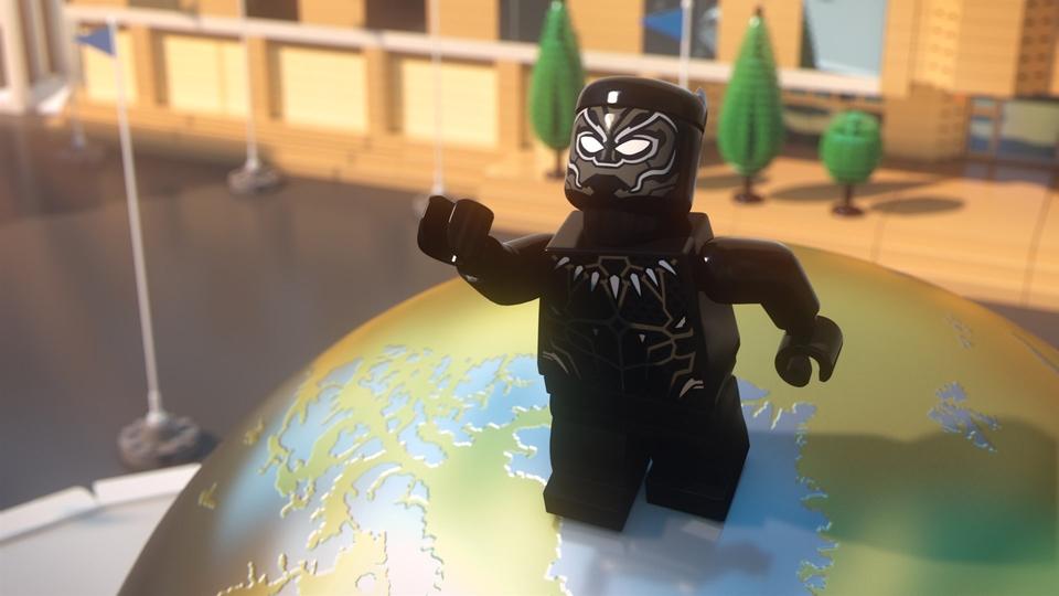 LEGO Marvel Superhrdinové: Black Panther: Potíže ve Wakandě