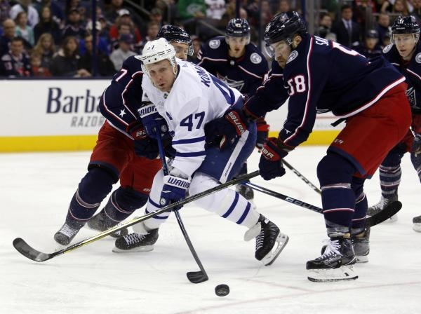 Toronto Maple Leafs - Columbus Blue Jackets