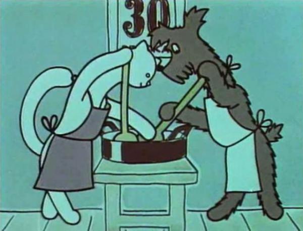Jak si pejsek s kočičkou dělali dort