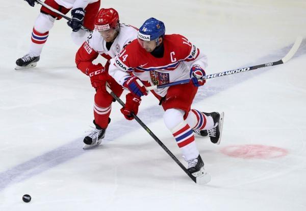 Hokej: Česko - Dánsko