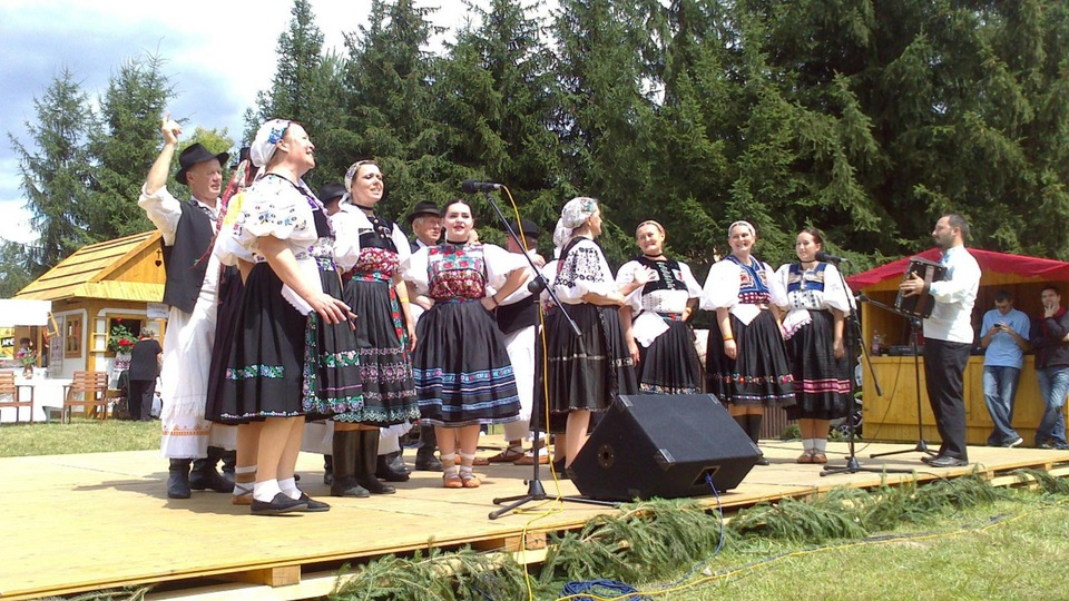 Dokument Folklórny festival - Detva