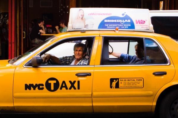 Dokument Taxikářem v New Yorku
