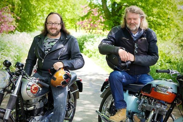 Vlasatí motorkáři