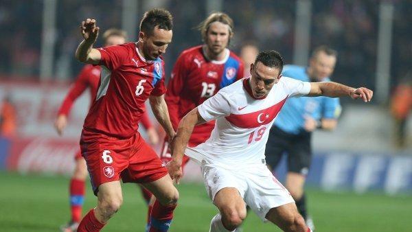 Fotbal: Turecko - Česko