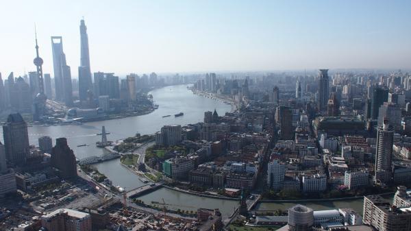 Čína z výšky