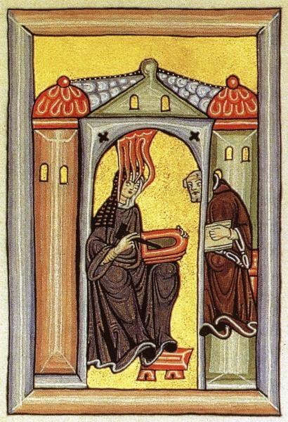 Hildegarda z Bingenu - Božie svetlo
