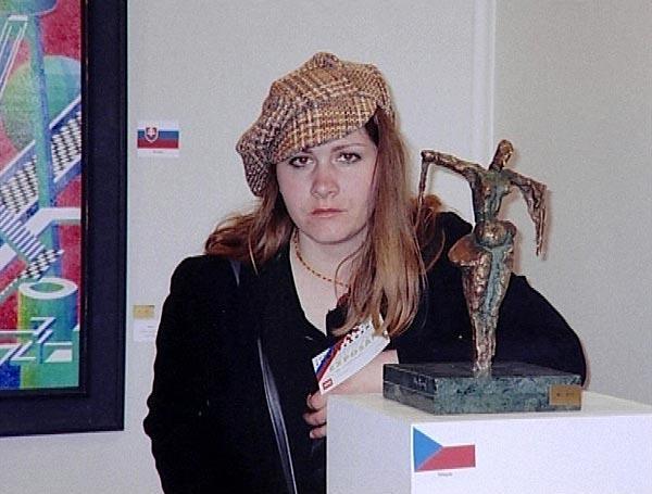 Kamenosochařka Zuzana Čížková