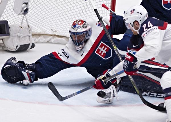 Hokej: USA - Slovensko