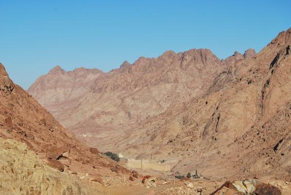 Dokument Egypt, mystické barvy Sinaje