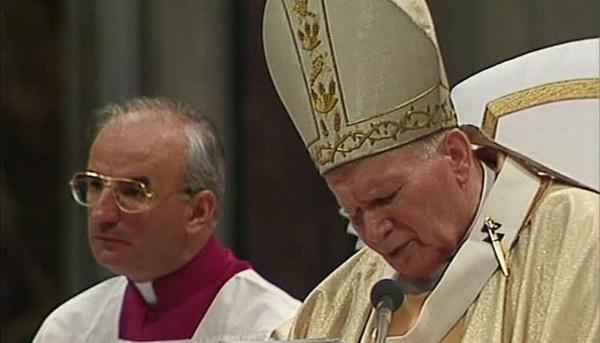 Ján Pavol II. na východnom Slovensku