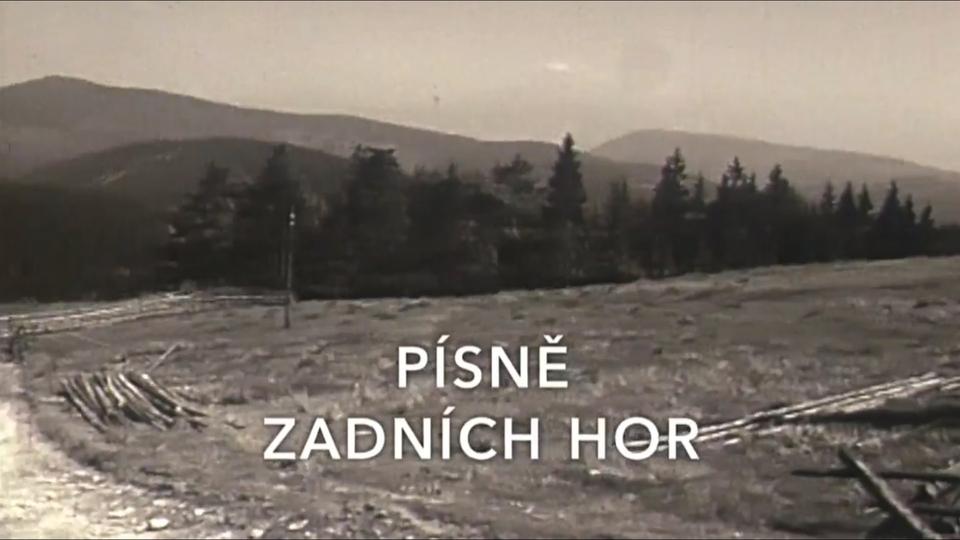 Dokument Písně Zadních hor