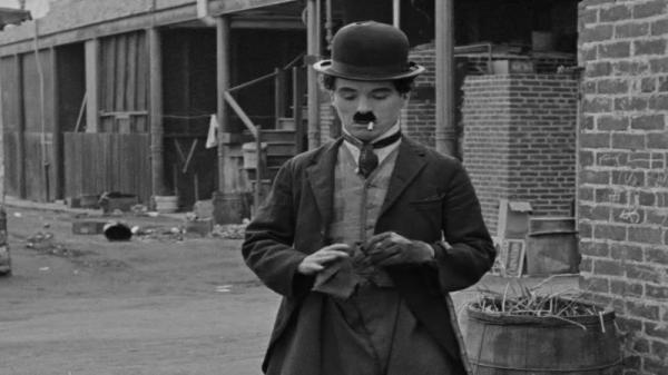 Chaplin šumařem