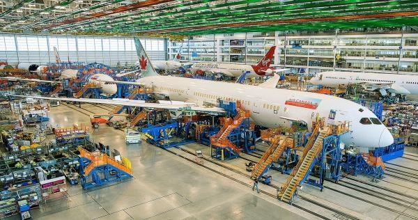 Kde se vyrábí Boeingy?!