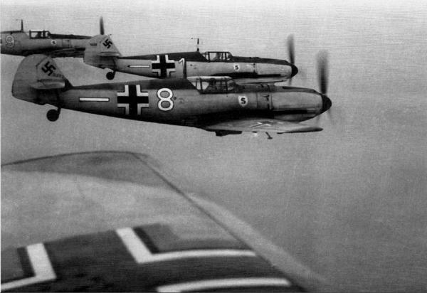 Luftwaffe stíhačky