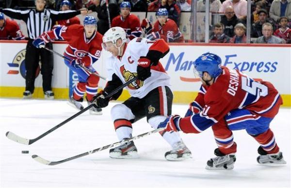 Ottawa Senators - Montreal Canadiens