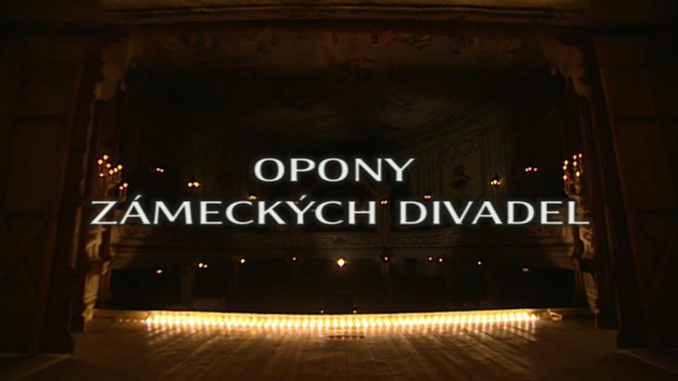 Dokument Malované opony českých divadel