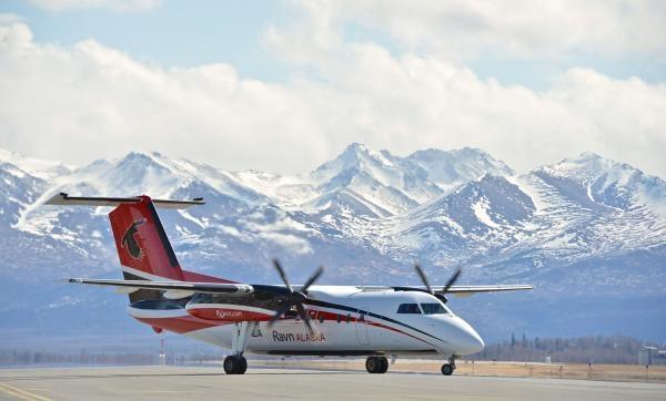 Nebezpečné létání na Aljašce