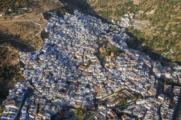 Maroko z výšky