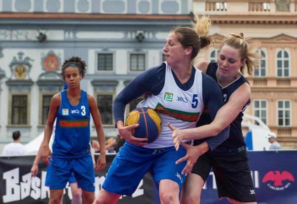 Basketbal: Chance 3x3 Tour Praha
