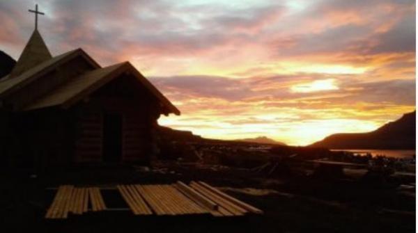 Hriňovský kostelík na Islandu