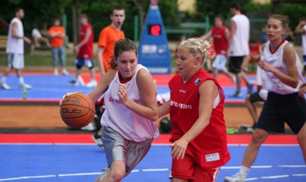 Basketbal: Chance 3x3 Tour Kroměříž 24.6.2019